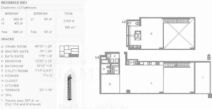 Ten Museum Park Floor Plans Tenmuseumparkcondosforsale Com